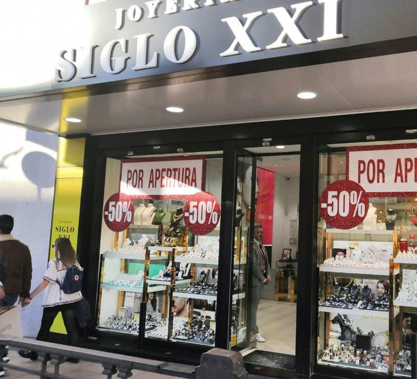Joyerías Siglo XXI Madrid